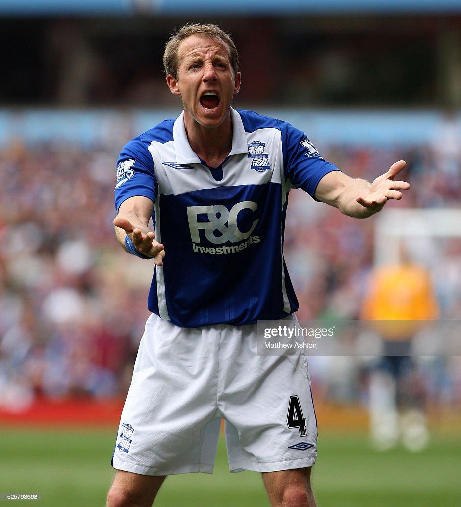 SOCCER - Barclays Premier League - Aston Villa v Birmingham City : News Photo