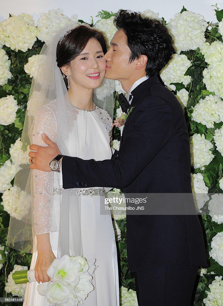 Ji Sung and Lee Bo-Young Wedding