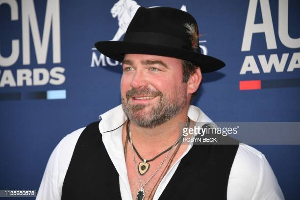 Lee Brice arrives for the 54th Academy of Country Music Awards on April 7 2019 in Las Vegas Nevada