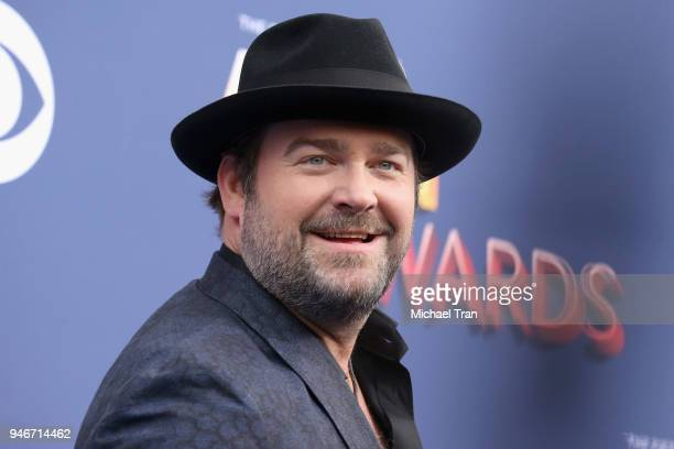 Lee Brice attends the 53rd Academy of Country Music Awards at MGM Grand Garden Arena on April 15 2018 in Las Vegas Nevada