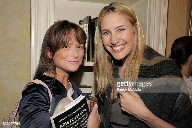 Lee Brokaw and Alison Brokaw attend TINA BROWN VICKY WARD and LA MER host party honoring SUSAN NAGEL'S new book 'Marie Therese' at Tina Brown and...