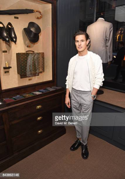 Lee Broom attends the launch of the 'Kingsman' shop on St James's Street in partnership with MR PORTER MARV Twentieth Century Fox in celebration of...