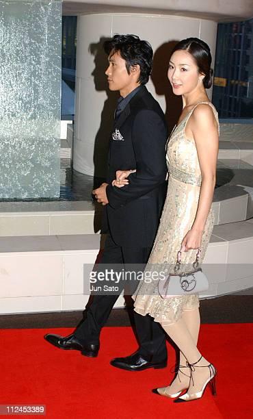 Lee Byung Hun and Choi Ji Woo during 17th Annual Tokyo International Film Festival Everybody Has Secret Special Screening Red Carpet at Virgin Toho...