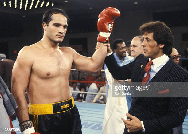 Lee Canaloti And Sylvester Stallone