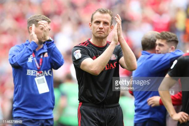 Lee Cattermole of Sunderland after the final whistle during the Sky Bet League One Playoff Final match between Charlton Athletic and Sunderland at...