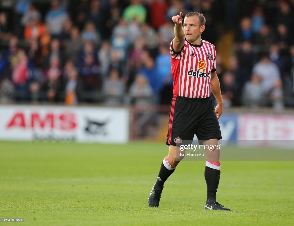 Scunthorpe United v Sunderland: Pre-Season Friendly : News Photo