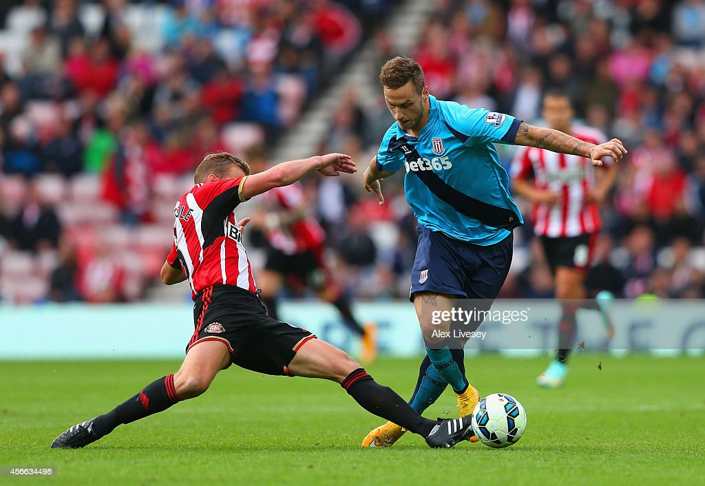 Sunderland v Stoke City - Premier League : News Photo