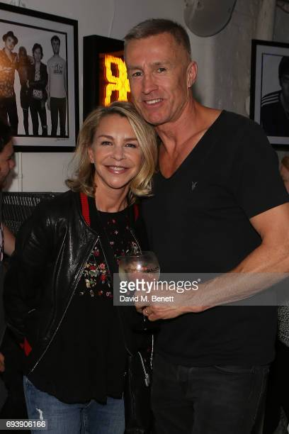 Lee Chapman and Lesley Ash attend the launch of new book Ibiza Rocks by Jerome Ferriere a photographic rock 'n roll retrospective of Ibiza's new...