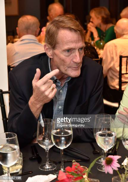 Lee Child attends Authors Night At East Hampton Library Private Dinner on August 11 2018 in East Hampton New York