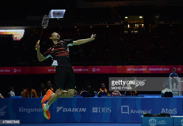 Worlds Best Badminton Smash Stock Pictures Photos And