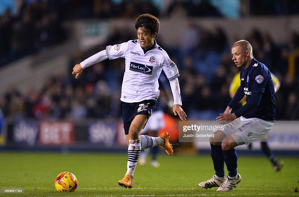 Millwall v Bolton Wanderers - Sky Bet Championship : News Photo