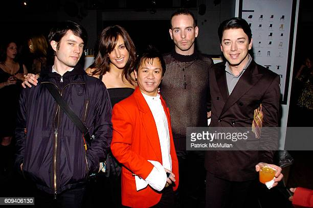 Lee Clayton Lindsay Wilson Baby Chic Keith Keating and Malan Breton attend KolDesign/BoConcept 5th Annual Holiday Party at BoConcept on December 11...