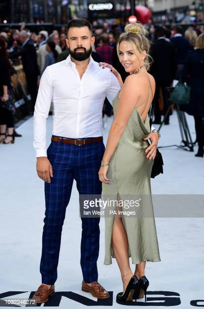 Lee Cronin and Lydia Bright arriving for the King of Thieves World Premiere held at Vue West End Leicester Square London PRESS ASSOCIATION Photo...