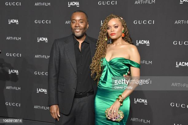 Lee Daniels and Andra Day attend LACMA Art Film Gala 2018 at Los Angeles County Museum of Art on November 3 2018 in Los Angeles CA