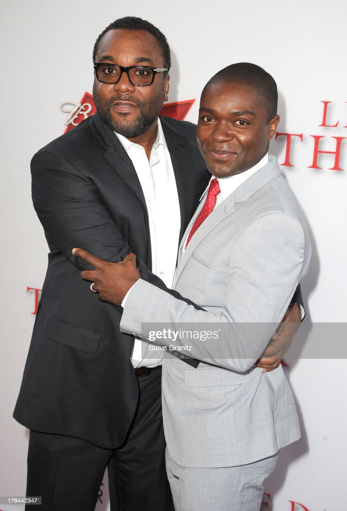 Lee Daniels and David Oyelowo arrives at the 'Lee Daniels' The Butler' - Los Angeles Premiere at Regal Cinemas L.A. Live on August 12, 2013 in Los Angeles, California.