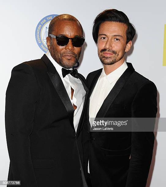 Lee Daniels and Jahil Fisher attend the 47th NAACP Image Awards at Pasadena Civic Auditorium on February 5 2016 in Pasadena California