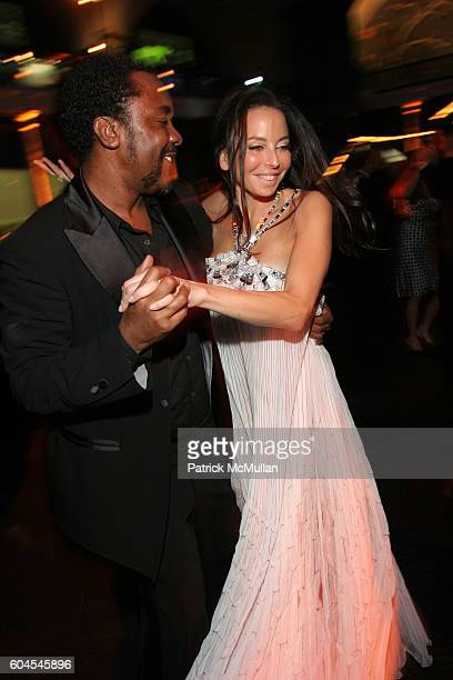 Lee Daniels and Lisa Maria Falcone attend The Museum Gala at American Museum of Natural History on November 16 2006 in New York City