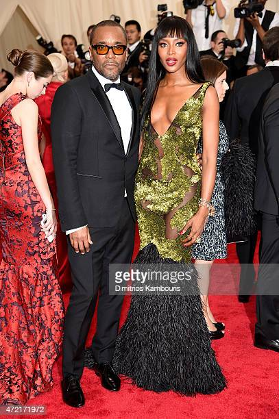 """Lee Daniels and Naomi Campbell attend the """"China: Through The Looking Glass"""" Costume Institute Benefit Gala at the Metropolitan Museum of Art on May..."""