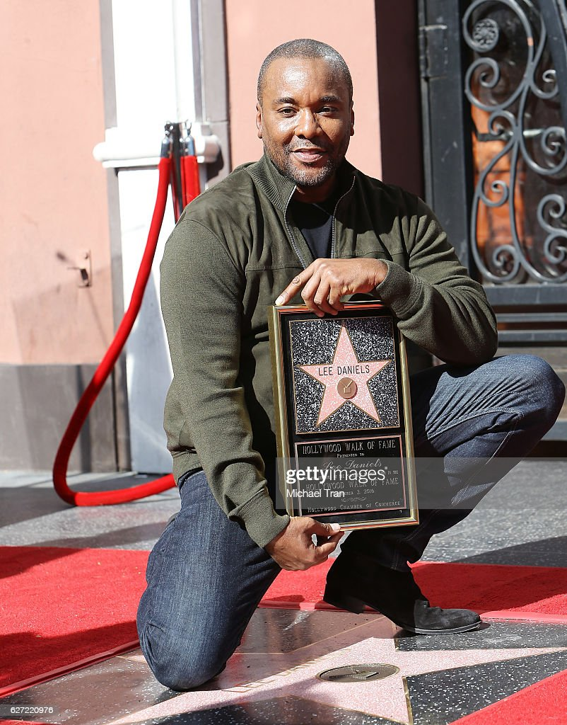 Lee Daniels Honored With Star On The Hollywood Walk Of Fame : News Photo