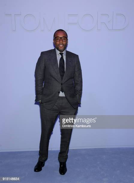 Lee Daniels attends the Tom Ford Fall/Winter 2018 Men's Runway Show at the Park Avenue Armory on February 6, 2018 in New York City.