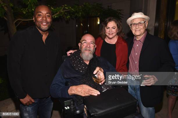 Lee Daniels Chuck Close Kathleen Turner and Norman Lear attend an event in NYC to celebrate People For the American Way Foundation founder and...