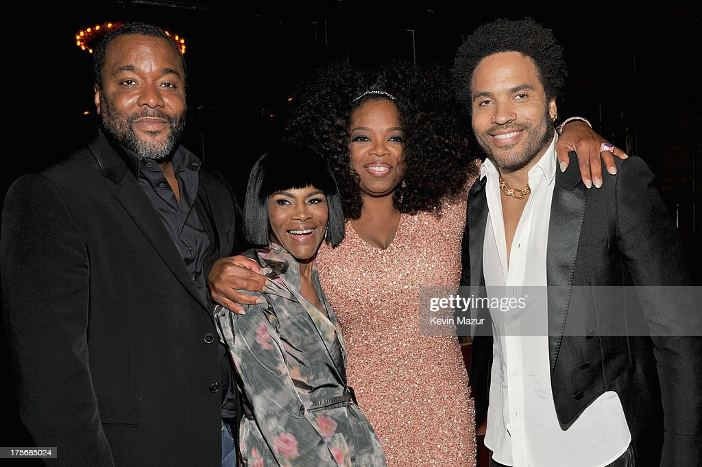 Lee Daniels, Cicely Tyson, Oprah Winfrey and Lenny Kravitz attend Lee Daniels' 'The Butler' New York premiere, hosted by TWC, DeLeon Tequila and Samsung Galaxy on August 5, 2013 in New York City.