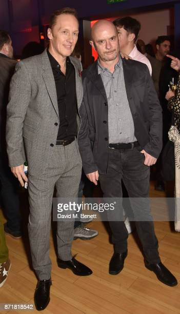 Lee Dixon and Nick Hornby attend the World Premiere of '89' at the Odeon Holloway on November 8 2017 in London England