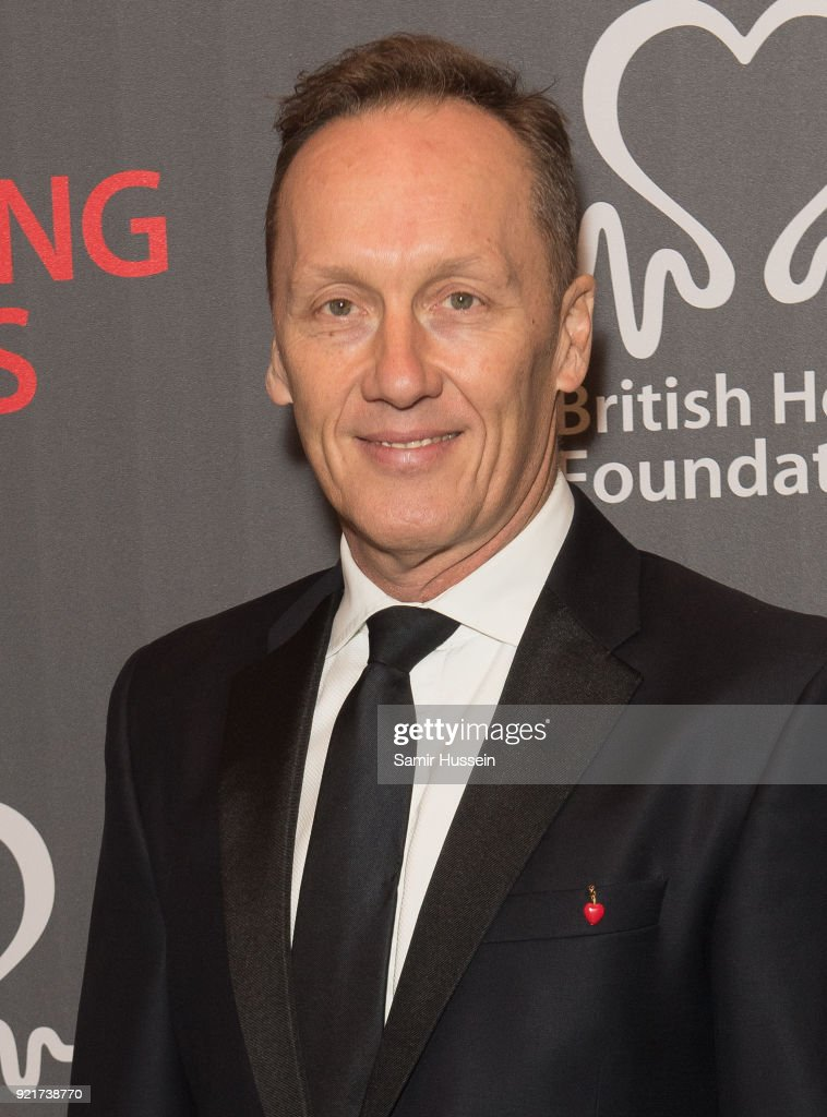 Lee Dixon attend the British Heart Foundation's 'The Beating Hearts Ball' at The Guildhall on February 20, 2018 in London, England.