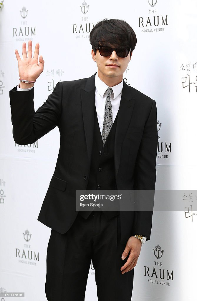 Lee DongWook attends Kim JaeWon Wedding at The Raum on June 28 2013 in Seoul South Korea