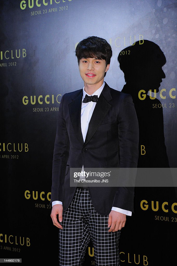 Lee Dong-Wook attends the 'Gucci Club' Party for celebrating the renewal of Gucci Seoul Flagship Store on April 23, 2012 in Seoul, South Korea.