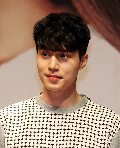 Lee DongWook attends the KBS 2TV 'Blade Man' press conference at The Raum on September 2 2014 in Seoul South Korea