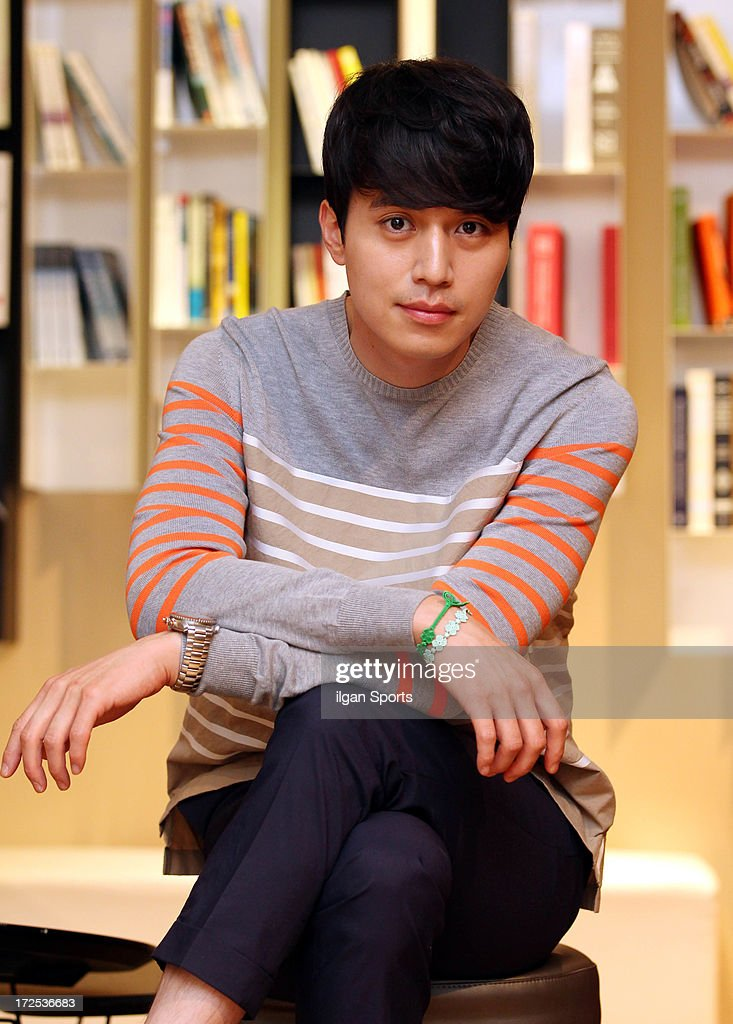 Lee DongWook poses for photographs on July 1 2013 in Seoul South Korea