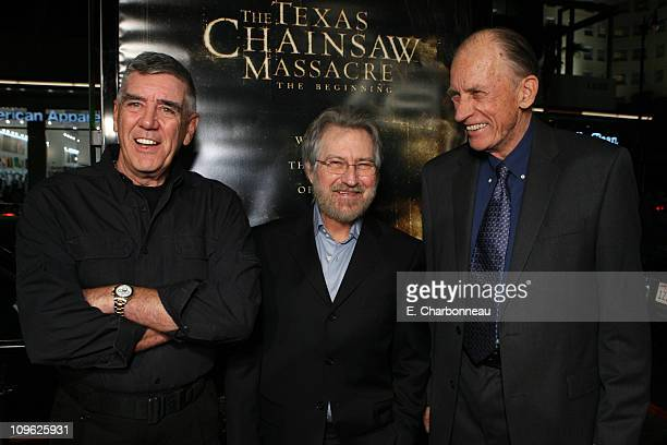 R Lee Ermey Producer Tobe Hooper and Terrence Evans