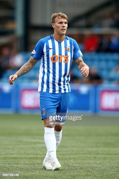 Lee Erwin of Kilmarnock FC during the Betfred Scottish League Cup match between Kilmarnock and St Mirren at Rugby Park on July 13 2018 in Kilmarnock...