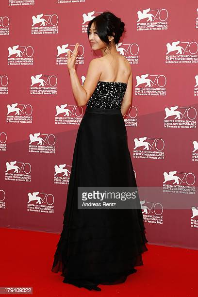 Lee EunWoo attends 'Moebius' Photocall during the 70th Venice International Film Festival at Palazzo del Casino on September 3 2013 in Venice Italy