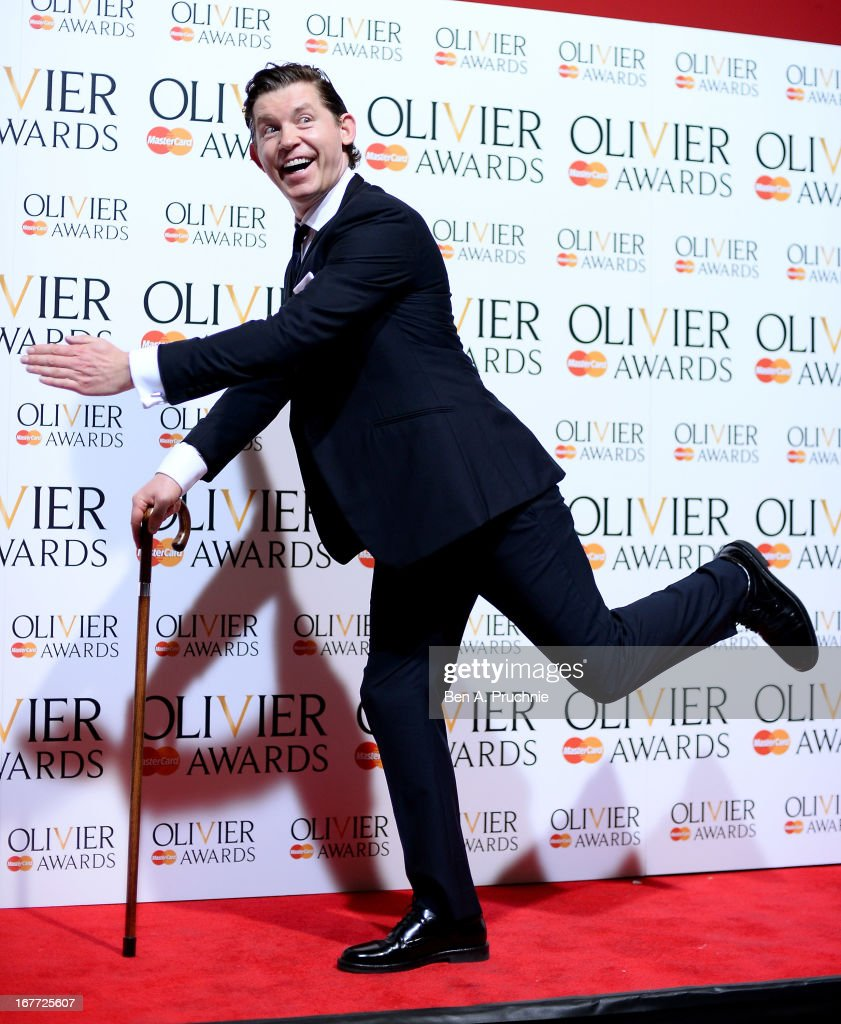 Lee Evans during The Laurence Olivier Awards at the Royal Opera House on April 28, 2013 in London, England.