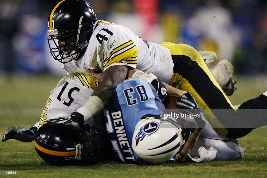 Steelers v Titans : News Photo
