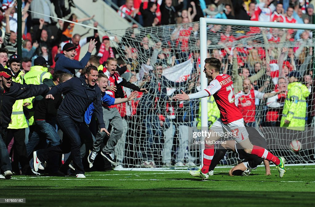 Rotherham United v Aldershot Town - npower League Two : News Photo