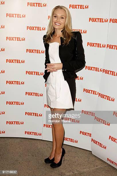 Lee Furlong arrives as Foxtel CEO Kim Williams Hosts Dinner At Aria Restaurant on September 28 2009 in Sydney Australia