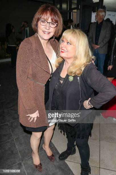 Lee Garlington and Sally Struthers are seen on November 07 2018 in Los Angeles California