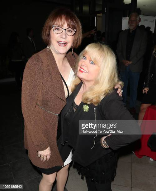 Lee Garlington and Sally Struthers are seen on November 7 2018 in Los Angeles CA