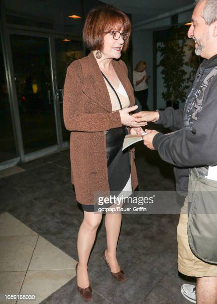 Lee Garlington is seen on November 07 2018 in Los Angeles California