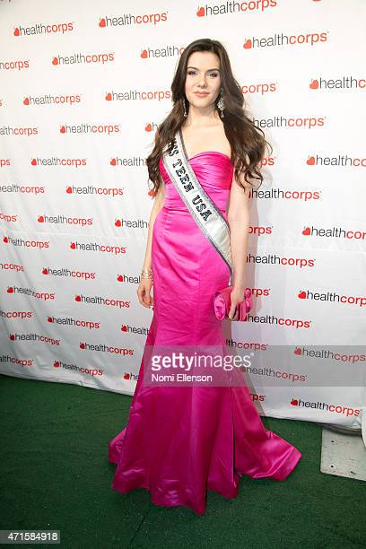 K Lee Graham attends the 9th Annual HealthCorps' Gala at Cipriani Wall Street on April 29 2015 in New York City