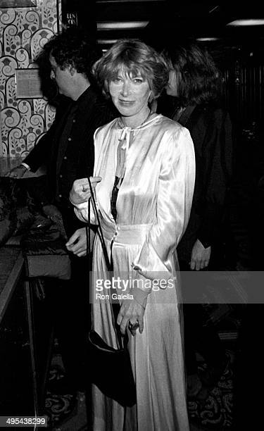 Lee Grant attends First Annual Actors Studios Awards on November 5 1980 at the Waldorf Hotel in New York City