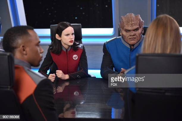 Lee Halston Sage and Peter Macon in the 'Firestorm' episode of THE ORVILLE airing Thursday Nov 16 on FOX