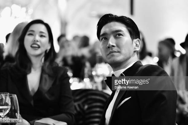 Lee Hanee and Jihoon Jung attend the Hammer Museum 16th Annual Gala in the Garden with generous support from South Coast Plaza at the Hammer Museum...