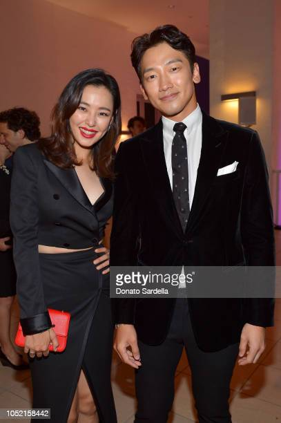 Lee Hanee and Jihoon Jung attends the Hammer Museum 16th Annual Gala in the Garden with generous support from South Coast Plaza at the Hammer Museum...