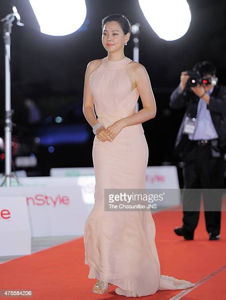 Lee Ha-Nui attends the 51st Baeksang Arts Awards at Grand Peace Palace in Kyung Hee University on May 26, 2015 in Seoul, South Korea.