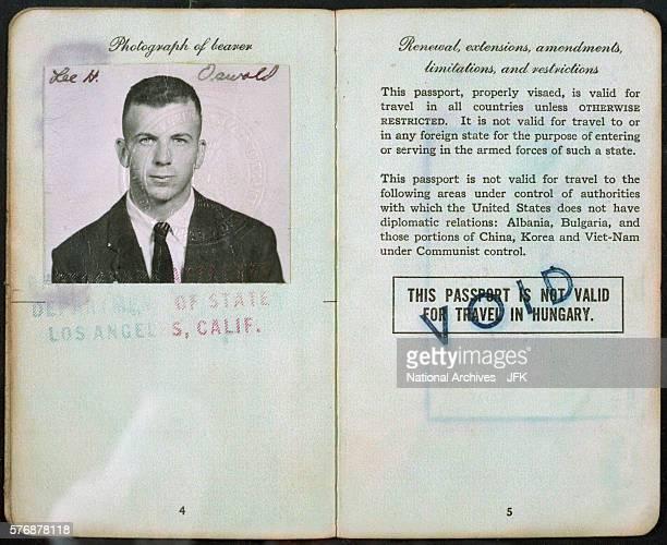 Lee Harvey Oswald Passport