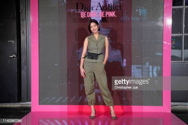Lee Ho Jung attends Dior Addict Stellar Shine launch at Layers 57 on April 04 2019 in Seoul South Korea